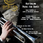 QCGU 2012 Concert 2 poster
