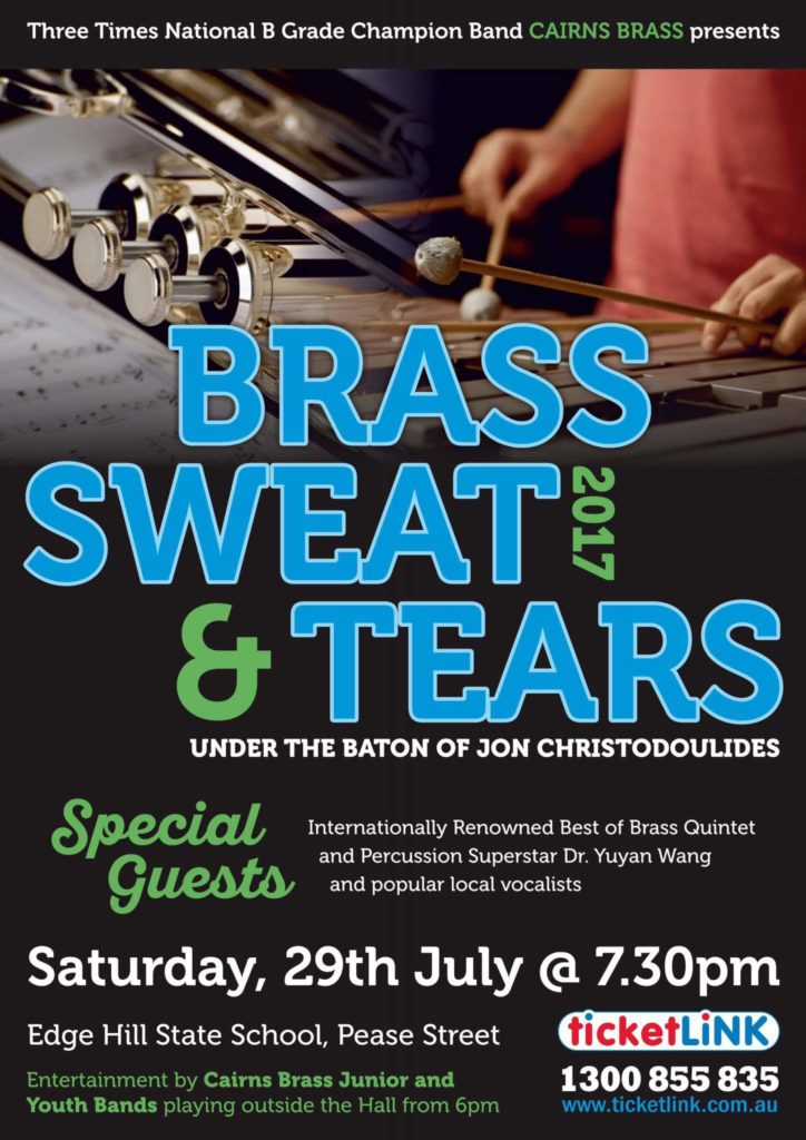 Brass, Sweat and Tears 2017